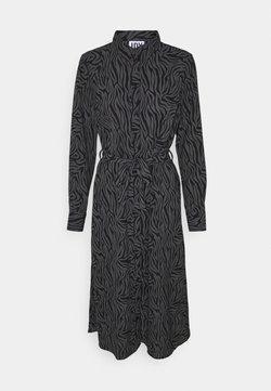 JDY - JDYPIPER ABOVE CALF DRESS - Skjortekjole - black