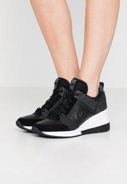 MICHAEL Michael Kors - GEORGIE TRAINER - Sneakers laag - black