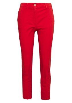 Rich & Royal - PANTS - Chinot - summer red