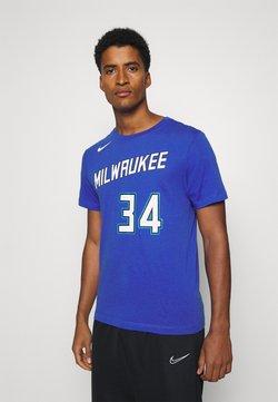 Nike Performance - NBA MILWAUKEE BUCKS GIANNIS CITY EDITION - Fanartikel - game royal