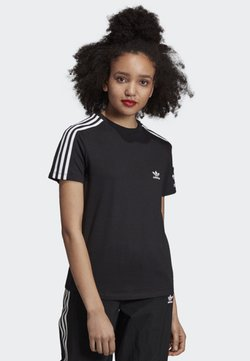 adidas Originals - 3-STRIPES T-SHIRT - T-Shirt print - black