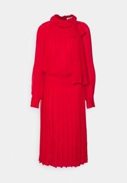 Victoria Beckham - DRAPED GATHERED DRESS - Cocktailkleid/festliches Kleid - red