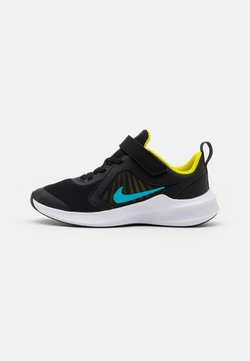 Nike Performance - DOWNSHIFTER 10 UNISEX - Chaussures de running neutres - black/chlorine blue/high voltage/dark smoke grey