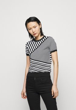 Lauren Ralph Lauren - T-Shirt print - black/white