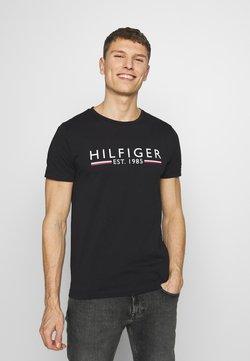 Tommy Hilfiger - TEE - T-shirt print - black