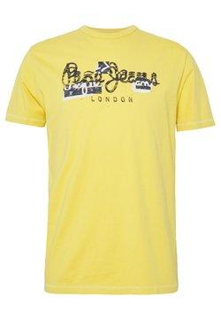 Pepe Jeans - SALOMON - T-shirt imprimé - vintage gold