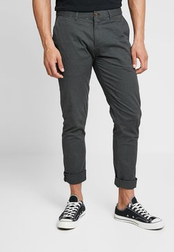 Scotch & Soda - STUART CLASSIC SLIM FIT - Chinot - charcoal