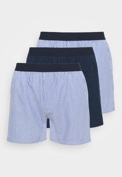 JBS - LOOSE  3 PACK - Boxershorts - light blue/dark blue