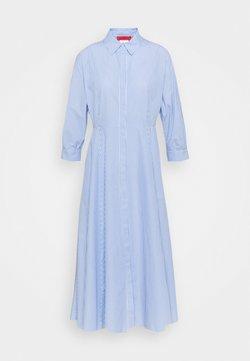 MAX&Co. - CARLO - Vestido camisero - light blue