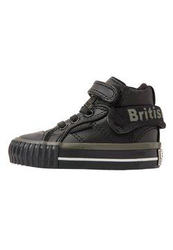 British Knights - ROCO - Sneakers hoog - black/khaki/black