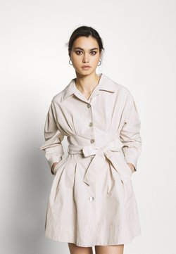Who What Wear - THE A LINE DRESS - Blusenkleid - off-white