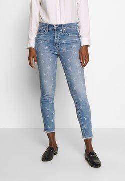 GAP - ANKLE HOPE FLORAL  - Jeans Skinny - light indigo