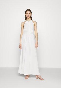 Vila - VIMESA BRAIDED DRESS - Maxikleid - snow white