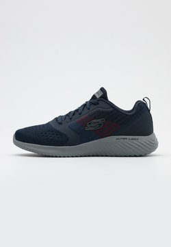 Skechers Sport - BOUNDER - Sneaker low - navy/charcoal