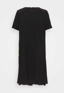 KARL LAGERFELD - DRESS PLEATED BACK - Juhlamekko - black