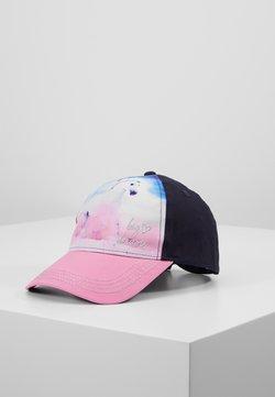 maximo - KIDS GIRL HORSE - Keps - navy/pink rose