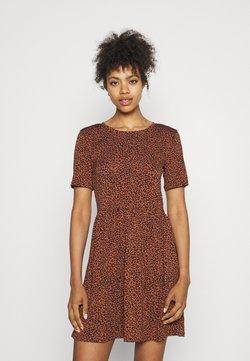 JDY - JDYKIRKBY SHORT DRESS - Freizeitkleid - rustic brown