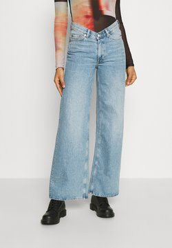 Weekday - Jeans relaxed fit - washed blue