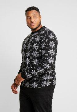 Jack´s Sportswear - XMAS ICEFLOWER - Pullover - black