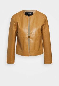 Opus - JASI - Leather jacket - peanut