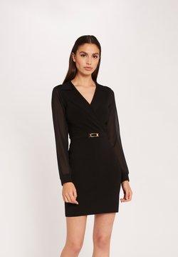 Morgan - STRAIGHT S WITH ORNAMENT - Vestido de tubo - black