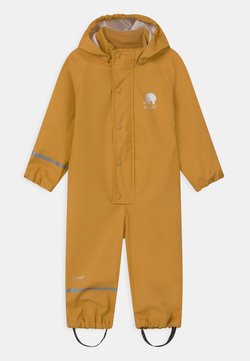 CeLaVi - RAINWEAR SUIT SOLID UNISEX - Regnoverall - mineral yellow