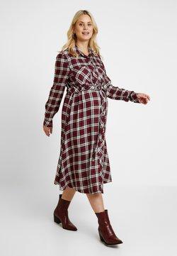 Gebe - DRESS TANYA - Maxi-jurk - claret