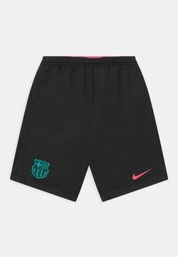 Nike Performance - FC BARCELONA UNISEX - Pantalón corto de deporte - black/pink beam