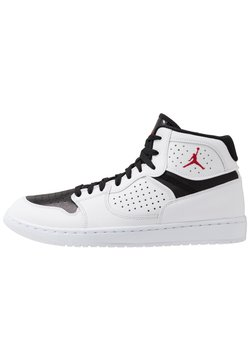 Jordan - JORDAN ACCESS - Sneaker high - white/gym red/black