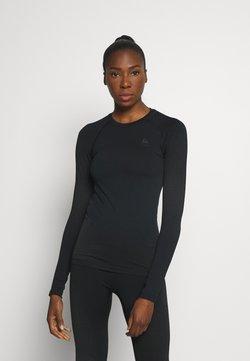 ODLO - CREW NECK PERFORMANCE WARM - Camiseta de deporte - black