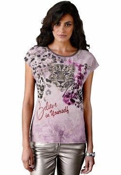 Amy Vermont - T-Shirt print - altrosa/taupe/lila
