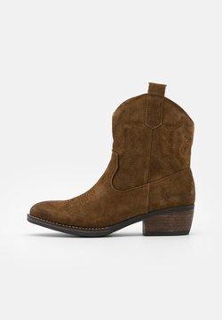 Coolway - JULES - Cowboy-/Bikerstiefelette - brown