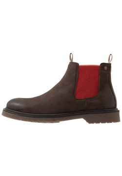 Jack & Jones - JFWLEYTON - Stiefelette - brown stone