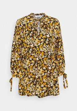 Dorothy Perkins Tall - SPOT SMOCK WOVEN - Tunika - yellow/black