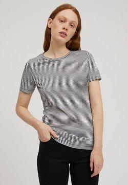 ARMEDANGELS - LIDIAA - T-Shirt print - black-oatmilk