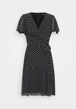 Lauren Ralph Lauren - PRINTED DRESS - Jerseyklänning - black