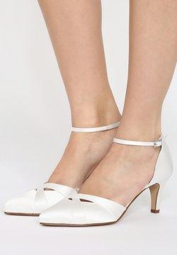Elsa Coloured Shoes - RAINBOW CLUB COCONUT ICE - Brautschuh - ivory