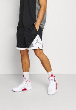 Jordan - DRY AIR DIAMOND SHORT - kurze Sporthose - black/white/smoke grey