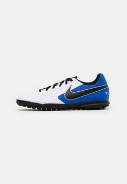 Nike Performance - TIEMPO LEGEND 8 CLUB TF - Fußballschuh Multinocken - white/black/hyper royal/metallic silver