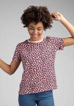 The Helping Leopard - T-Shirt print - mehrfarbig