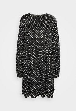 Vero Moda Tall - VMFIE DRESS - Freizeitkleid - black/birch dot