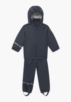CeLaVi - BASIC RAINWEAR SET UNISEX - Regnbyxor - dark navy