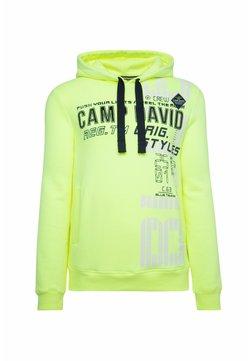Camp David - Kapuzenpullover - neon lime