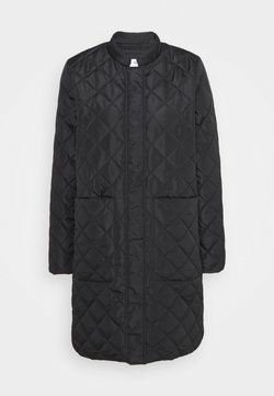 Selected Femme - SLFFILLIPA QUILTED COAT - Kurzmantel - black