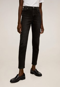 Mango - NEWMOM - Slim fit jeans - black denim