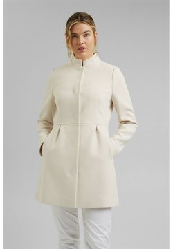 Esprit Collection - SHORT COAT - Halflange jas - cream beige