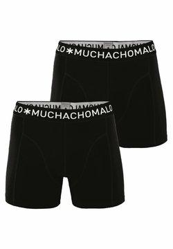 MUCHACHOMALO - 2 PACK - Shorty - black