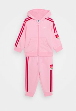 adidas Originals - TREFOILHOOD SET - Survêtement - light pink