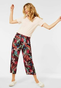 Cecil - LOOSE FIT - Stoffhose - rot