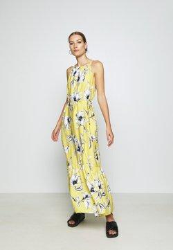 Banana Republic - HALTER - Vestido largo - yellow